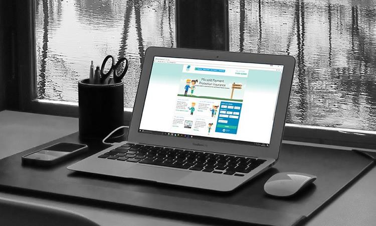 3DM Legal website on laptop