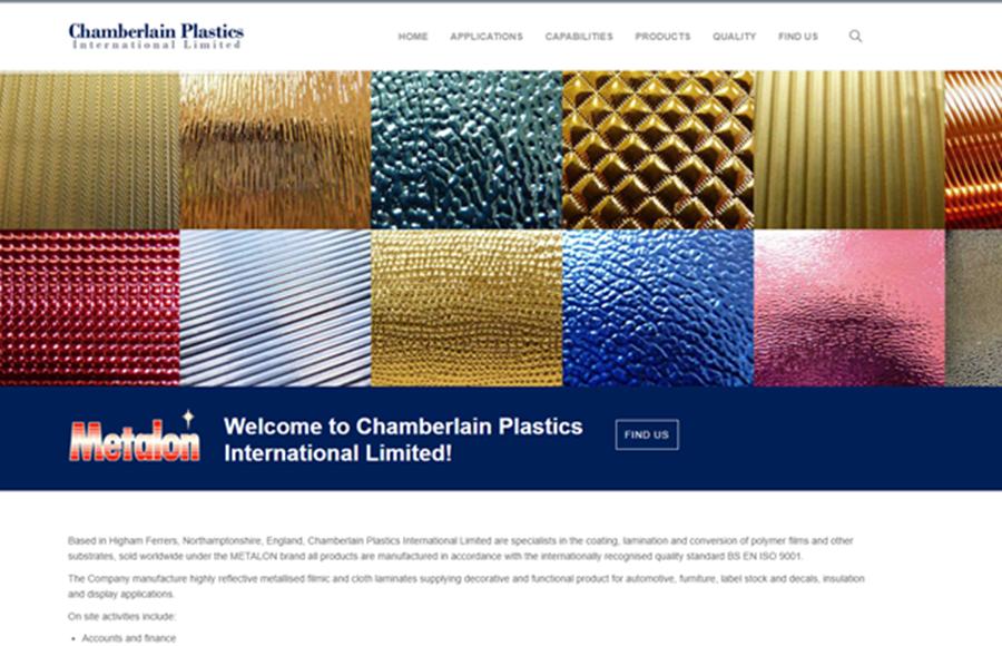 Chamberlain Plastics Website