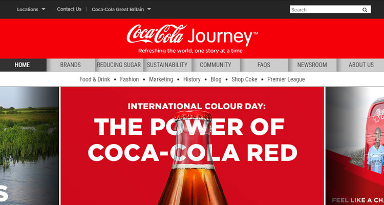 cocacola-landing-page-in-red