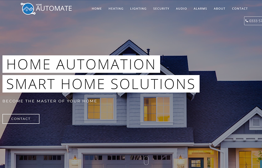 Home Automate Web Design