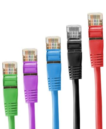 Multi coloured - Ethernet Cables