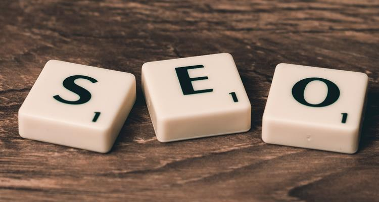 Search engine optimisation scrabble tiles