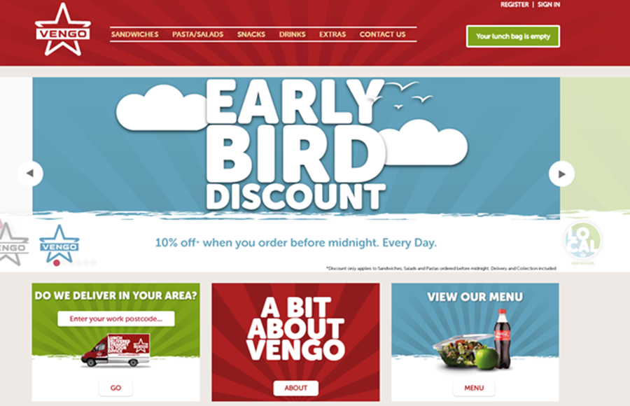 Vengo Website