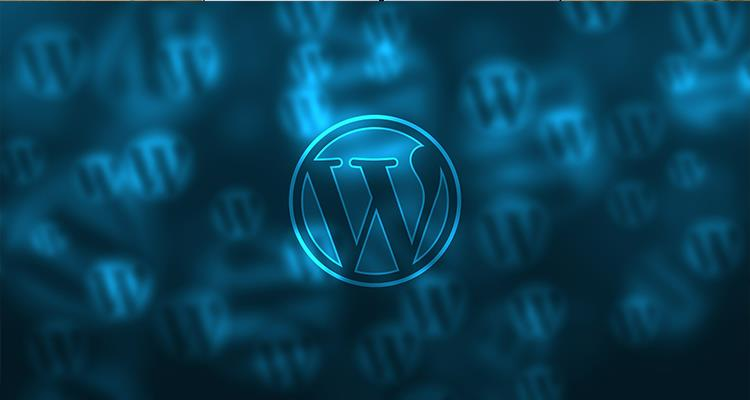 Wordpress logo background