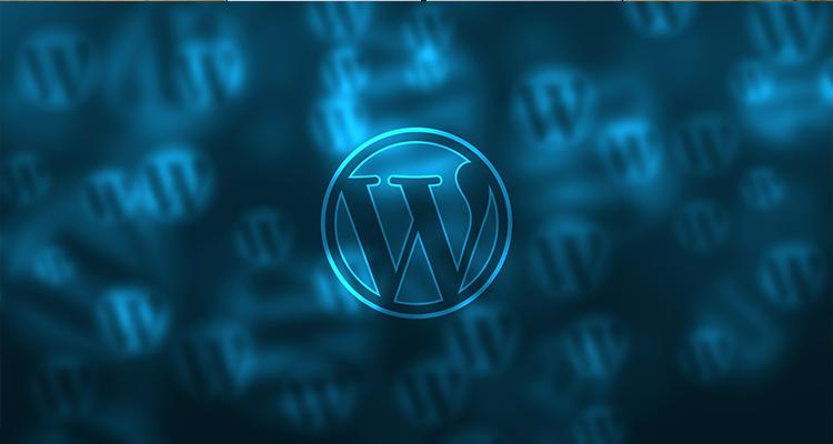 Wordpress logo background
